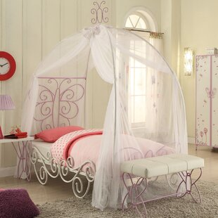 Corringham Canopy Bed by Zoomie Kids