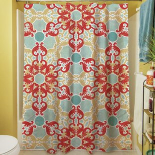 Kerrie Geometric Single Shower Curtain