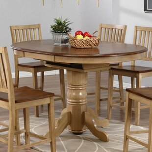 Baboquivari Extendable Dining Table Loon Peak