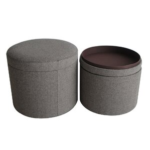 Mandalay Storage Ottoman (Set of 2) by Screen Gems