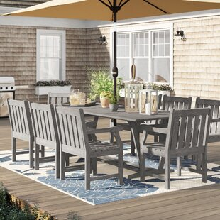Manchester 9 Piece Dining Set by Sol 72 Outdoor