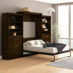 Adela Storage Murphy Bed by Beachcrest Home