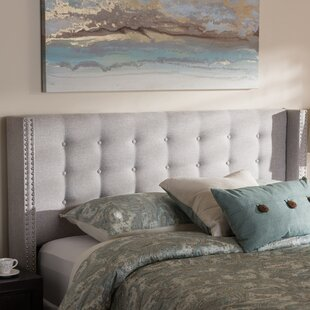 Jude Upholstered Wingback Headboard