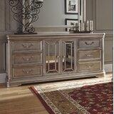 Randell 6 Drawer Combo Dresser by Fleur De Lis Living