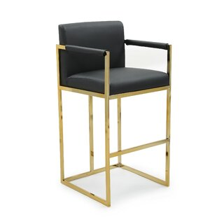 Wilfredo 30.25 Bar Stool by Everly Quinn