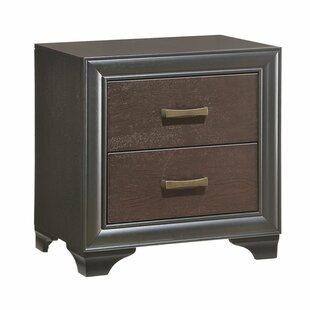 Gast 2 Drawer Nightstand
