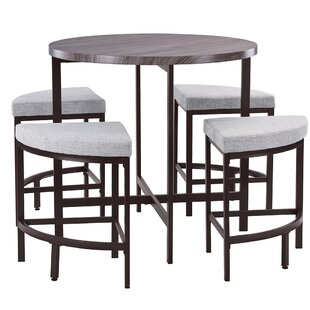 Trever Kitchen 5 Piece Dining Set Red Barrel Studio