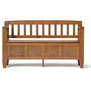 Gillingham Solid Wood Storage Bench
