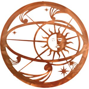 Sun And Moon Wall Decor celestial moon decor | wayfair