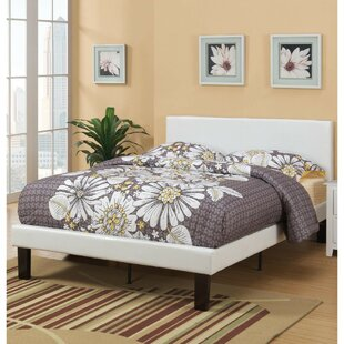 Latitude Run Baigelman Wooden Full Upholstered Panel Bed