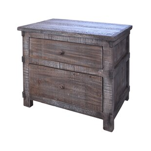 Artisan Home Furniture San Angelo 2 Drawer Nightstand