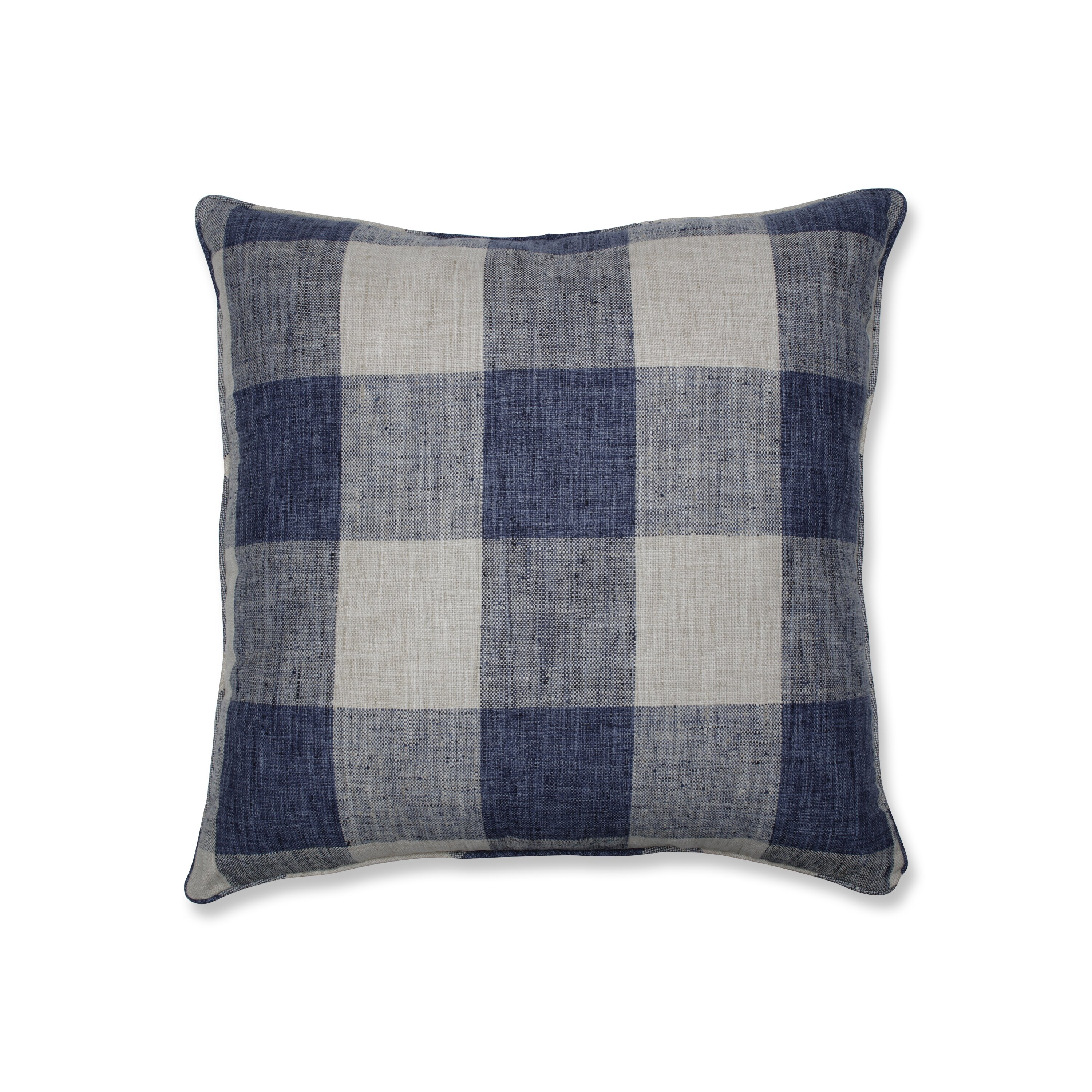 The Twillery Co Bollinger Check Plaid 25 Floor Pillow Reviews Wayfair