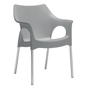 Pike Stacking Dining Arm Chair By Sol 72 Outdoor