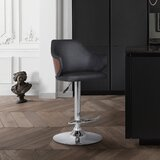 Adelbert Adjustable Height Swivel Bar Stool by Wrought Studio™