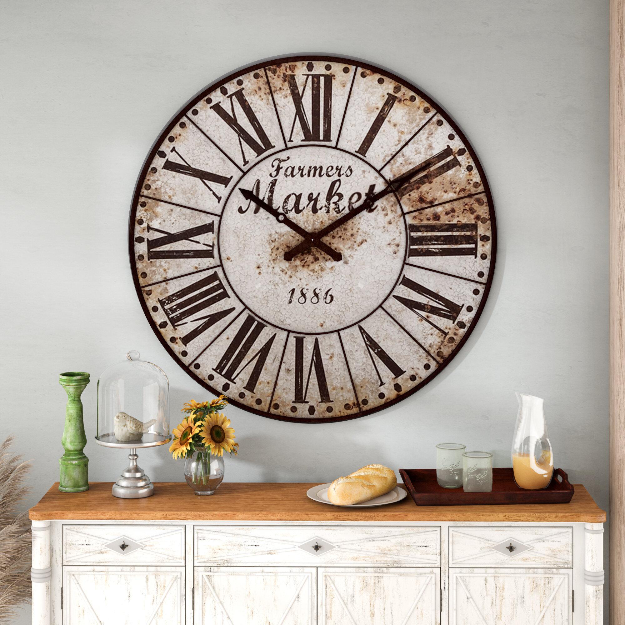 Oversized Wall Clocks From 30 Through 12 26 Wayfair