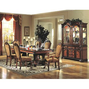 Rawlins Lighted China Cabinet by Astoria Grand