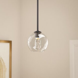 Kettner 1-Light Globe Pendant by Wrought Studio