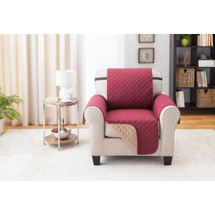 Home Solutions Box Cushion Armchair Slipcover