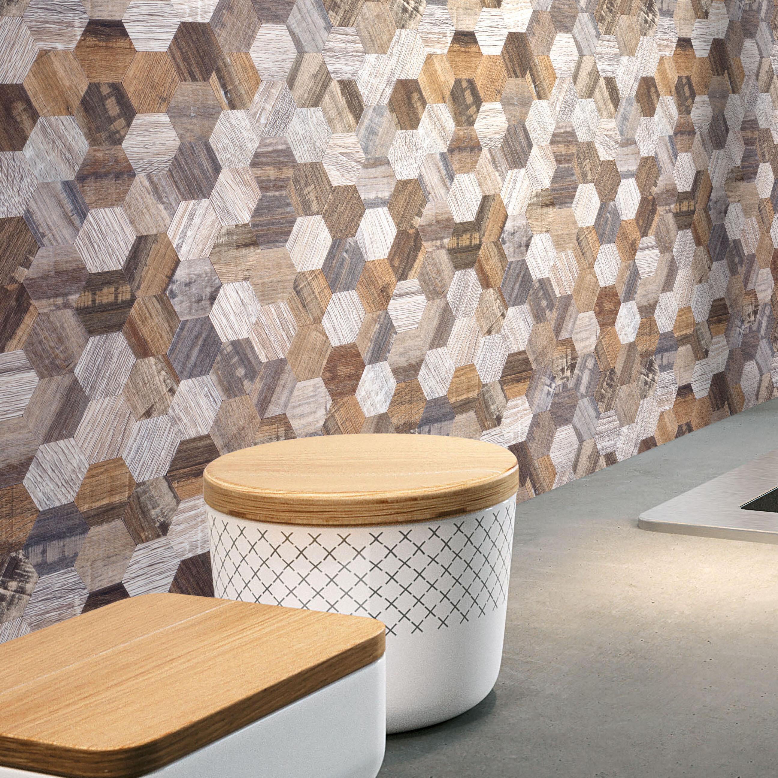 - VersaTILE Modern Wood Hexagon 1
