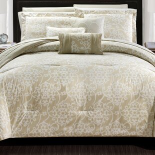 Lea 10 Piece Reversible Comforter Set by Chic Home