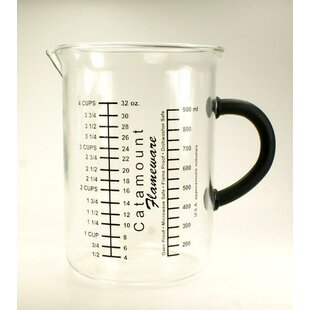 4 Cup Glass Measuring Cup with Handle