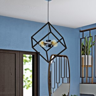 Elizalde 4-Light Geometric Cha..