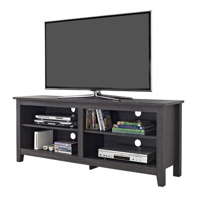 Beachcrest Home Sunbury TV Stand for TVs up to 60 Color: Charcoal