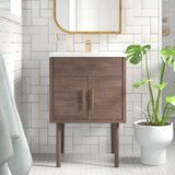 "Matthews 15"" Single Bathroom Vanity Set"