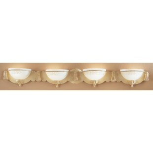 Classic Lighting Rope and Tassel 4-Light Bath Bar