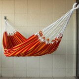 Ricard Hand-Crafted Striped Cotton Tree Hammock