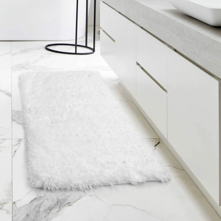 Orren Ellis Lovell Non Slip Backing Rubber Bath Rug Reviews Wayfair