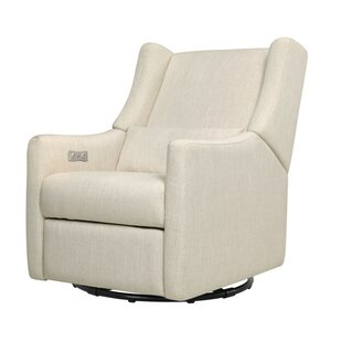 Kiwi Reclining Swivel Glider by babyletto