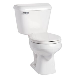 Mansfield Plumbing Products Alto 1.6 GPF Round Two-Piece Toilet