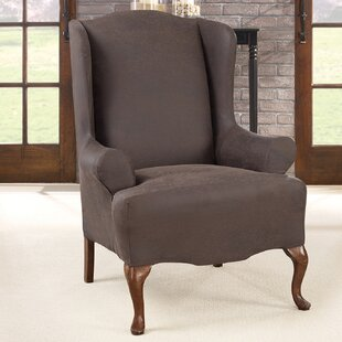 Ultimate Stretch T-Cushion Wingback Slipcover