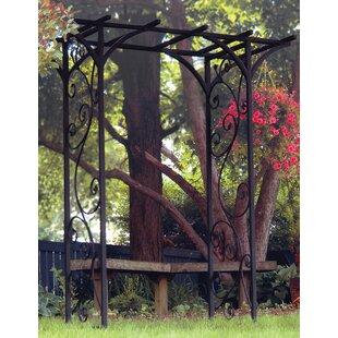 Panacea Garden Steel Arbor