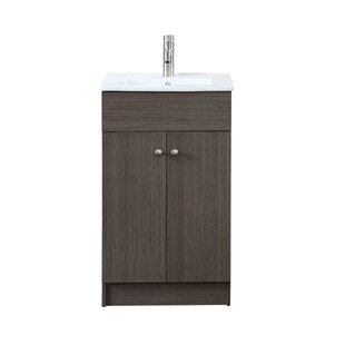 Gambino 19 inch  Single Bathroom Vanity