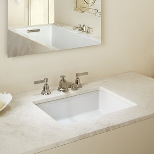 Quickview 5 Kohler Verticyl Impressions Ceramic Rectangular Undermount Bathroom Sink