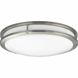 Hodge 1-Light LED Flush Mo..