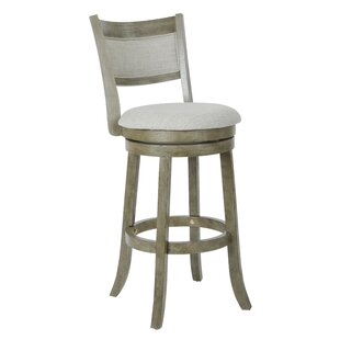 Saul 30.5 Swivel Bar Stool by Gracie Oaks