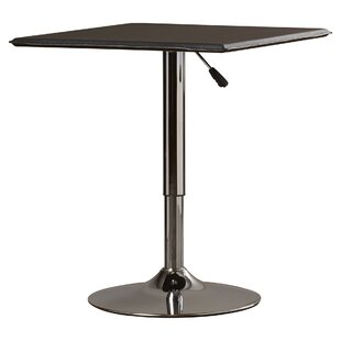 Modern Contemporary Adjustable Height Table AllModern - Adjustable outdoor dining table