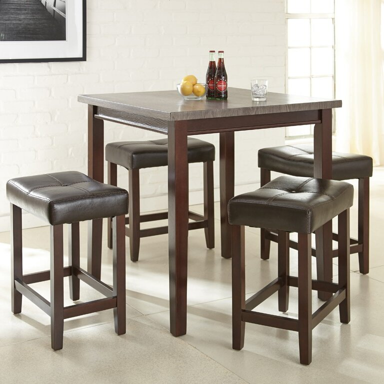 Covedale 5 Piece Counter Height Dining Set