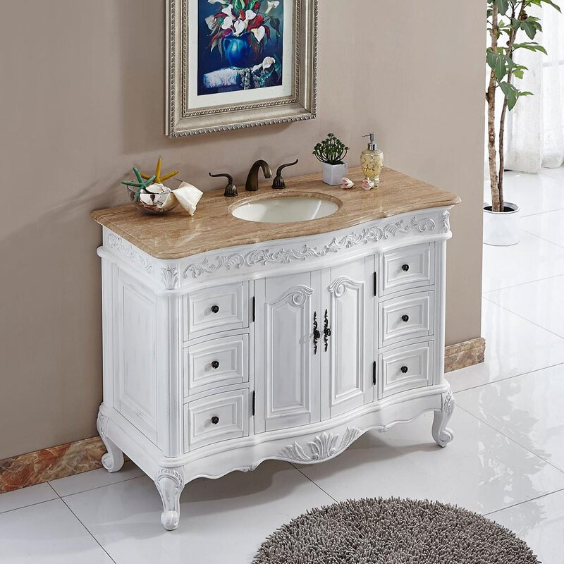 "Haslett 48"" Single Bathroom Vanity"