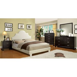 Upholstered Platform Bed by Hokku Designs