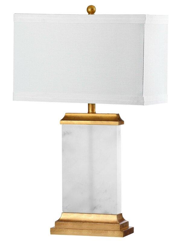 """Roder Alabaster 25.5"""" Bedside Table Lamp"""