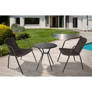 Jenny Outdoor 3 Piece Seating Group