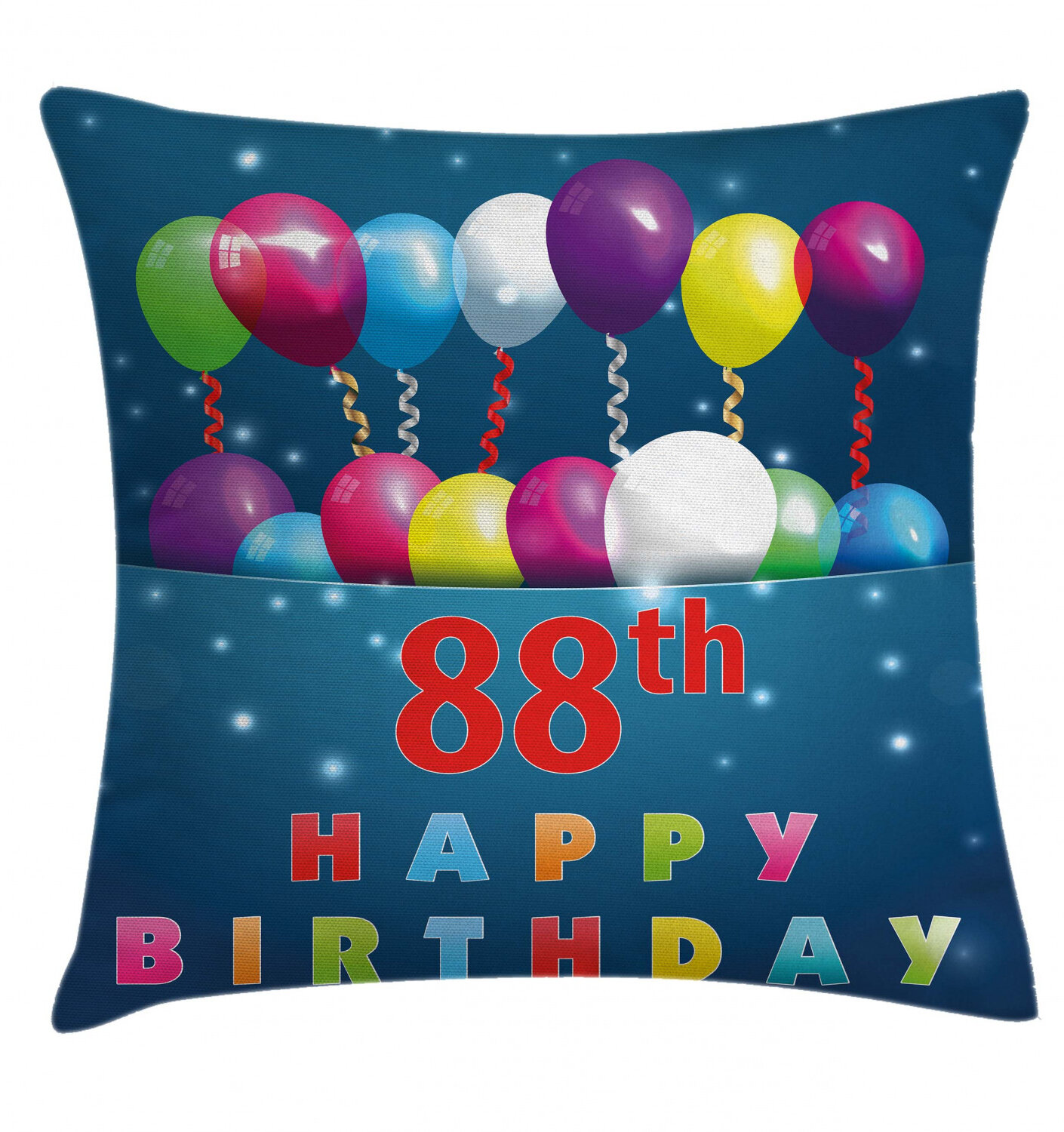 East Urban Home 88th Birthday Indoor Outdoor 40 Throw Pillow Cover Wayfair