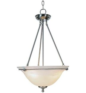 Winston Porter Blevins 3-Light Bowl Pendant