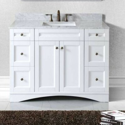 "Bathroom Vanity Base virtu usa elise 47"" bathroom vanity base & reviews 