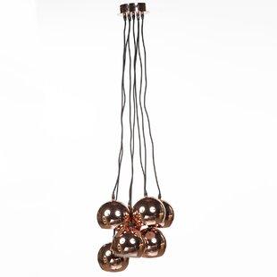 Almeirim 7-Light Cluster Pendant by dCOR design