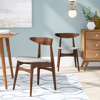Aiden Solid Wood Dining Chair (Set of 2) by Modern Rustic Interiors SKU:BE883227 Guide